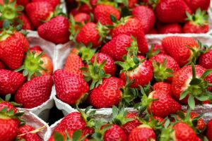 strawberries- Couleur, Pixabay